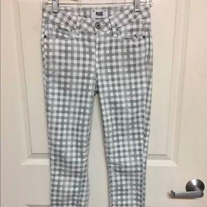 PAIGE Pants & Jumpsuits - Paige Ankle Verdugo Gingham Checkered Pants